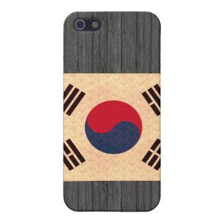 Vintage Pern South Korean Flag Case For iPhone 5