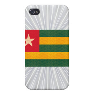 Vintage Pern Togolese Flag Cases For iPhone 4