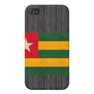 Vintage Pern Togolese Flag Cover For iPhone 4