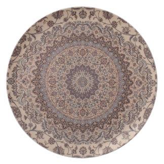 Vintage Persian design Melamine Plate