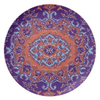 Vintage Persian design Plate