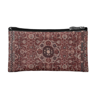 Vintage Persian Tapestry Cosmetic Bags