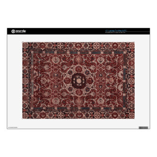"Vintage Persian Tapestry Decals For 15"" Laptops"