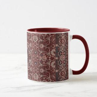 Vintage Persian Tapestry Mug