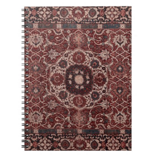 Vintage Persian Tapestry Note Book