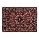 Vintage Persian Tapestry Stationery Note Card