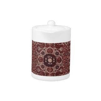 Vintage Persian Tapestry Teapot