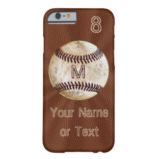 Vintage Personalized Baseball iPhone Cases