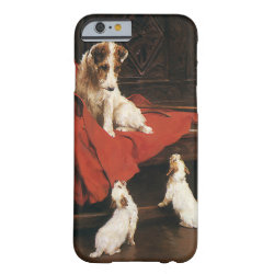 Vintage Pet Animals, Jack Russel Terrier Dogs Barely There iPhone 6 Case