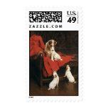 Vintage Pet Animals, Jack Russel Terrier Dogs Stamp