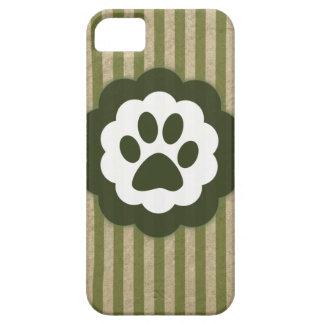 vintage pet paw iPhone SE/5/5s case