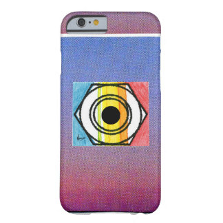 """Vintage """"Peter Max 60s"""" colorful target iPhone 6 c Barely There iPhone 6 Case"""