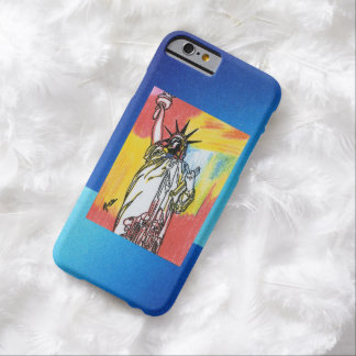 Vintage Peter Max 60s statue of liberty iPhone 6 Barely There iPhone 6 Case
