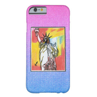 Vintage Peter Max statue of liberty iPhone 6 case