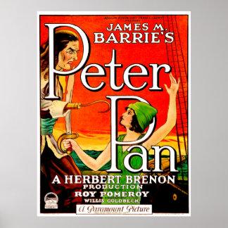 Vintage Peter Pan Movie Poster