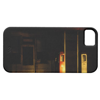 Vintage petrol pumps at night, Riddle, Oregon, iPhone 5 Cover