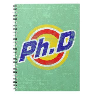 Vintage Ph D o PhD o doctor de la filosofía