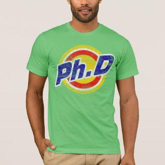 Vintage Ph.D o PhD o doctor de la filosofía Playera