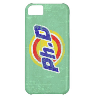 Vintage Ph D or PhD or Doctor Of Philosophy iPhone 5C Cover