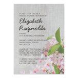 Vintage Phalaenopsis Orchid Bridal Shower Invites Custom Invite