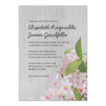 Vintage Phalaenopsis Orchid Wedding Invitations Personalized Announcements
