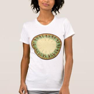 Vintage Phenakistoscope Wheel Boxing Muybridge Shirt