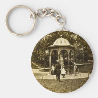 Vintage Philly 1902 del parque de Fairmount Llavero Redondo Tipo Pin