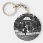 Vintage Philly CA 1900-1910 del parque de Fairmoun Llaveros Personalizados