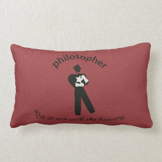 Vintage Philosopher Lumbar Pillow