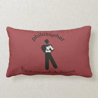 Vintage Philosopher Lumbar Pillow
