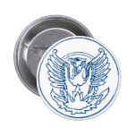 VINTAGE PHOENIX RISING FROM THE FLAMES MEDALLION P BUTTONS