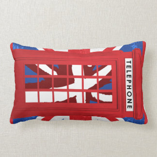 Vintage Phone Booth Decorative Pillow