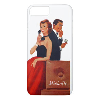 Vintage Phone Couple white iPhone 7 Plus iPhone 7 Plus Case