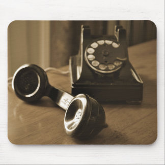 Vintage Phone Mouse Pad