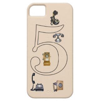 Vintage phones iPhone SE/5/5s case