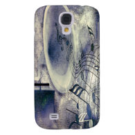 Vintage Phonograph and Music Samsung Galaxy S4 Cases