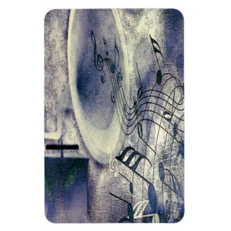 Vintage Phonograph and Music Magnet