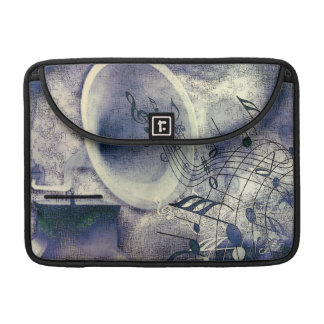 Vintage Phonograph and Music Sleeves For MacBook Pro