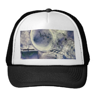 Vintage Phonograph and Music Trucker Hat