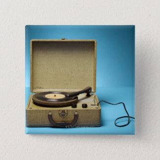 Vintage Phonograph Button