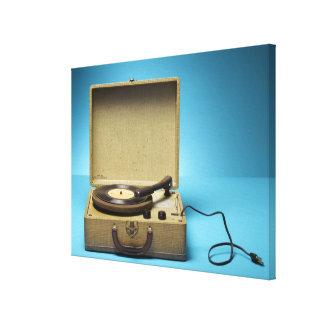 Vintage Phonograph Canvas Print