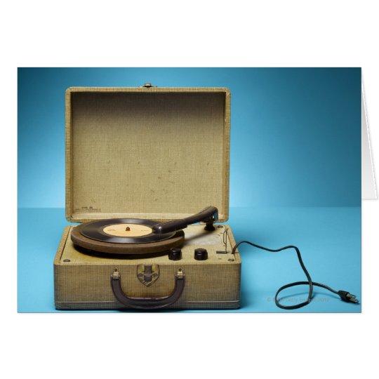 Vintage Phonograph Card