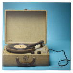 Vintage Phonograph Ceramic Tile