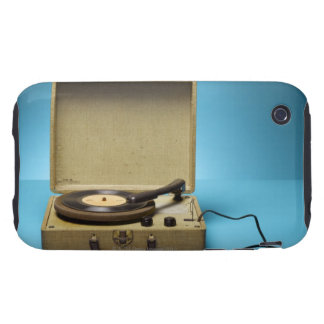 Vintage Phonograph iPhone 3 Tough Cases