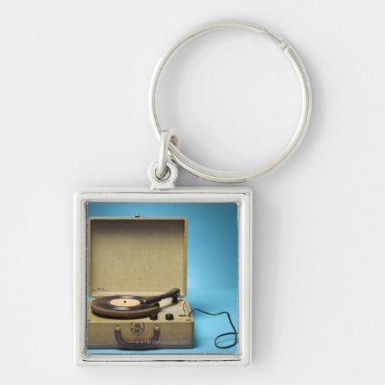 Vintage Phonograph Keychain