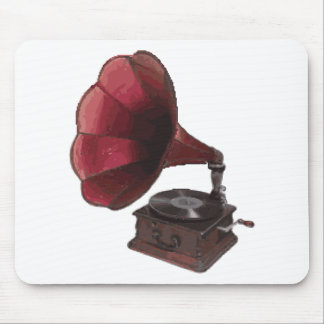 Vintage Phonograph Mouse Pad