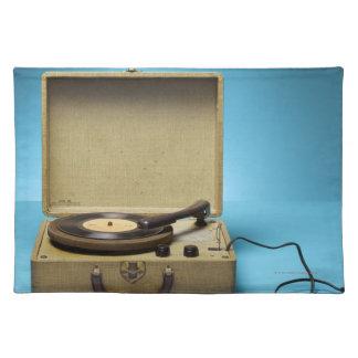 Vintage Phonograph Placemats