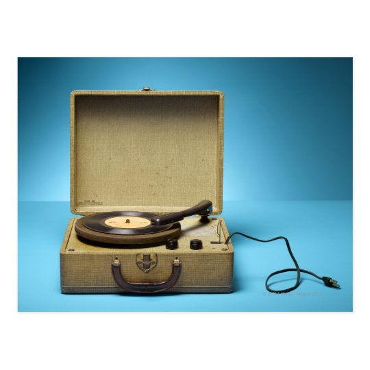 Vintage Phonograph Postcard