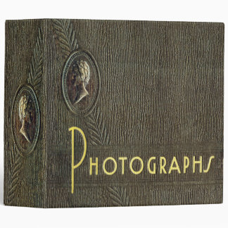 Vintage Photo Album Binder - Cameo Design