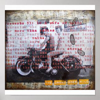 VIntage Photo Art Poster